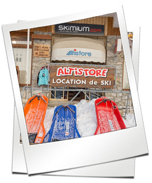 Altistore : location de ski à l'altiport Méribel 73550